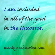 An affirmation and s