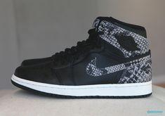 1658cc823046 Jordan Brand Adds Exotic Snakeskin To This Air Jordan 1 For The Ladies