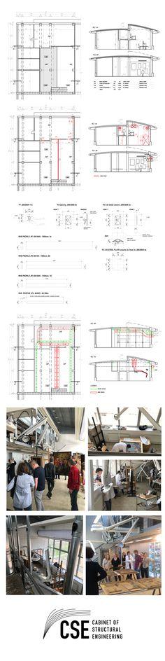 Technical Device Design for Department of Conservation and Restoration /Sabah Shawkat, Richard Schlesinger/