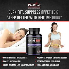 Emil - PM Fat Burner, Sleep Aid and Night Time Appetite Suppressant - Stimulant-Free Weight Loss Pills and Metabolism Booster for Men and Women Vegan Diet Pills): Health & Personal Care Metabolism Booster, Boost Metabolism, All Natural Vitamins, Fat Burner, Weight Loss Supplements, Diet Pills, Fast Weight Loss, Just In Case, Night Time