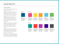 Seamless Creative StyleGuide example