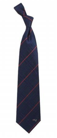 NFL New England Patriots Navy Blue Oxford Woven Silk Tie -- Check this awesome product by going to the link at the image.