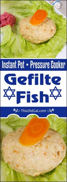 Pressure Cooker Gefilte Fish in Jelled Broth is made from Whitefish and Pike and simmered in a flavorful Homemade Fish Stock.