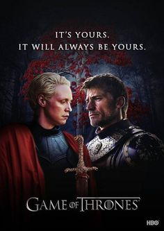 I've always felt he meant his heart here, and apparently I'm not the only one ☺♥ #Braime #GameofThrones