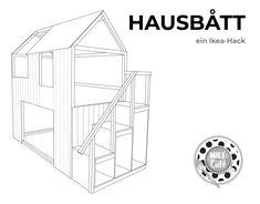 #anzeige Wie baue ich aus einem IKEA KURA Bett ein Hausbett, bzw. Spielhaus mit Treppe? Die Antwort ist prinzipiell ganz einfach – mit unserem IKEA Hack! Man braucht dazu ganz grob: ein IKEA KURA Bett 90 x 200 cm ein IKEA TROFAST Stufenregal eine Holzrahmenkonstruktion und Holzlatten zur Verschalung des Ganzen Klingt total simpel. Zugegebenermaßen ist dem nicht ganz so, aber es ist durchaus machbar. Soviel zur Motivation. Wir haben wochenlang Inspirationen gesucht und getüftelt und sind nun…
