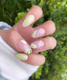 Not my image Get Nails, How To Do Nails, Short Square Acrylic Nails, Lip Gloss Homemade, Color For Nails, Funky Nails, Cute Nail Art, Pastel Nails, Dream Nails