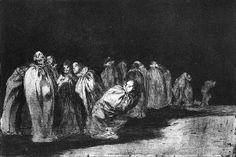 """Francisco de Goya, """"Disparate los ensacados"""""""