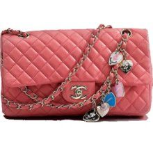 chanel pink valentines 2.55