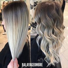 "6,769 Likes, 31 Comments - Balayageombre (@balayageombre) on Instagram: ""Amazing Blend would you do it ? ⚜Yes or No  #balayage #balayageombre #balayagehighlights…"""
