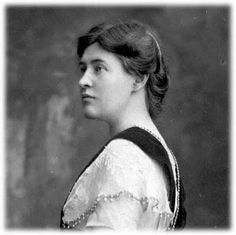 American author Willa Cather (1873-1947)