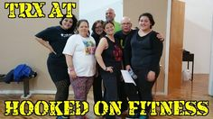 Another #TRX class kicked butt tonight at the Hooked on Fitness Studio! Way to go guys and gals!  #GroupFitness #PhillyPersonalTrainer http://ift.tt/1Ld5awW Another shot from #HookedOnFitness