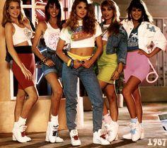 The 80s fashion