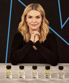 Pfeiffer's new fragrance brand — Henry Rose — is comprised of five different fragrances. Elvira Hancock, Unique Socks, Baker Boy, Michelle Pfeiffer, Cosmetic Companies, New Fragrances, Girl Inspiration, Girl Boss, Gifts For Friends