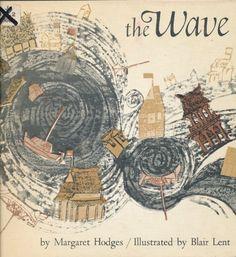 The Wave by Margaret Hodges http://www.amazon.com/dp/0395068177/ref=cm_sw_r_pi_dp_8LA5tb0S234PB