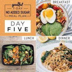 JUMP TO: Intro   Prep Day   Day One   Day Two   Day Three   Day Four   Day Five   Day Six   Day SevenEXTRAS:Snack Ideas   Grocery List   Printable Recipes