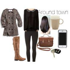 Around Town September Outfits, Autumn Fashion, Image, Fall Fashion