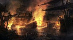 Older picture, massive sea battle done for the game total war empire. For the history fans it is a battle in Vigo bay between Spanish and British fleet. All ships should be historical correct as in beginning of the century. Empire Wallpaper, Hd Wallpaper, Fantasy World, Fantasy Art, Full Hd Desktop Wallpapers, Empire Total War, Pirate Images, Ship Paintings, Stunning Wallpapers