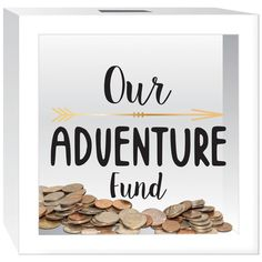 "You'll love the ""Our Adventure Fund"" Piggy Bank at Wayfair - Great Deals on all Décor  products with Free Shipping on most stuff, even the big stuff."