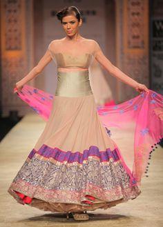 Indian bridal WIFW  Manish Malhotra S/S 2013 #indianwedding  Love the colours