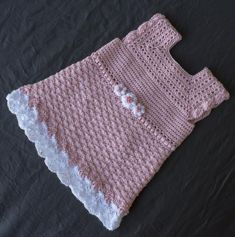 Items similar to Crochet Baby Dress - Crochet Clothes for Newborn - Crochet Dress - Newborn Dress - Baby Gift - Infant Clothes - Baby Shower Gift on Etsy Crochet Baby Bonnet, Crochet Bebe, Baby Girl Crochet, Newborn Crochet, Beautiful Baby Shower, Easter Dress, Handmade Baby, Crochet Clothes, Pink Dress