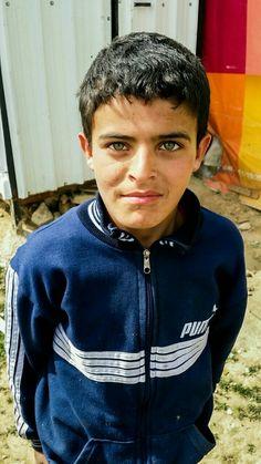 Syrian refugee in a informal settlement in Lebanon.  Photo by Lene K. Bergersen