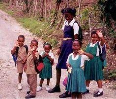 jamaica school uniforms | Children in Jamaica (Jamaica)