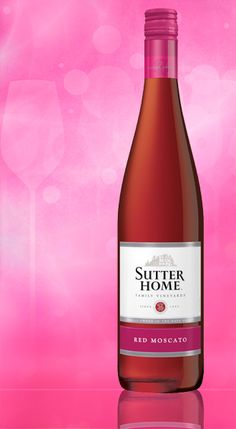 Welcome Red #Moscato to the Sutter Home family of wines!