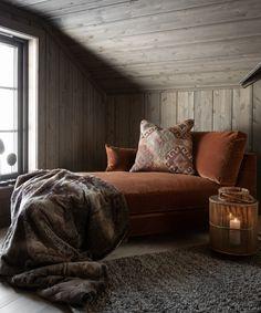 Grey Interior Design, Interior Design Inspiration, Room Inspiration, Cozy Cabin, Cozy House, Chalet Design, House Design, Hygge Home, Cabin Interiors