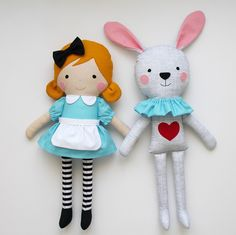 Alice in Wonderland & the White Rabbit