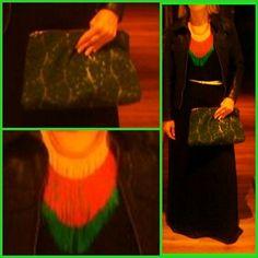 DIY bolso y collar