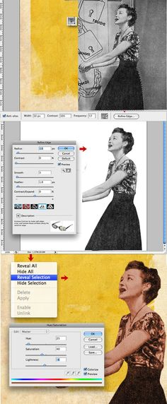 In this tutorial, I will show you how to create a retro-style design or vintage collage style. We will use images from old ads, handwritten texts, patterns, and other things to give to our design a...