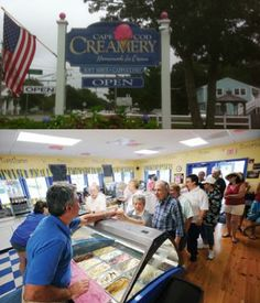 Ice Cream on Cape Cod, Cape Cod Ice Cream in Hyannis and South Yarmouth, Cape Cod Creamery Stuff To Do, Things To Do, Summer Things, Places Worth Visiting, Nantucket, Cape Cod, New England, Ice Cream, Massachusetts