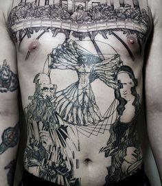 da Vinci everything oozy tattoo