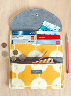 Have It All Wallet - Tons of pockets, zippered coin pocket, CCs - AND - an iPhone pocket! ($8.95)