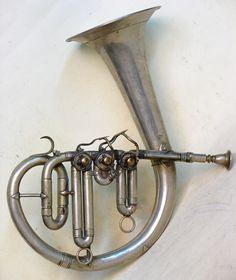 Circular Eb Valved Bugle