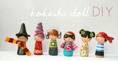 kokeshi DIY
