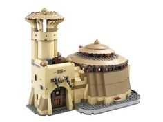 "Lego says its ""Jabba's Palace"" construction set is modeled after the villain's lair in the ""Star Wars"" saga. A Turkish group in Austria, however, says the structure looks too similar to Istanbul's Hagia Sophia monument"