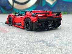 Veneno Roadster, Lego Racers, Lamborghini Veneno, Lego Design, Lego Models, Lego Projects, Lego Moc, Cool Lego, Legoland