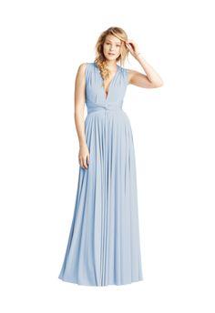 Baby Blue Classic Ballgown Buckle Waist - TwoBird Bridesmaid   Wedding Inspiration   Bridesmaid Dress   Wedding Ideas   Wedding Fashion   Wedding Style   http://www.rockmywedding.co.uk/brand-new-shades-from-twobirds-bridesmaid/