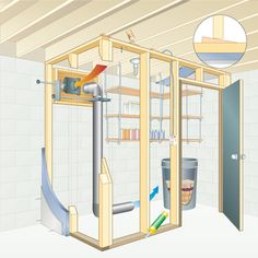 Build a Basement Root Cellar. Storing crops in a passively cooled basement root cellar is one of the most efficient ways to preserve food.