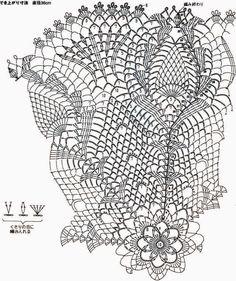 http://www.crochetkingdom.com/beautiful-doily-crochet-pattern/ - Beautiful doily crochet pattern 1