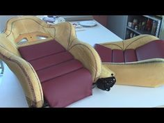 Flat Arch Designs For Car Seats - Part Two - YouTube