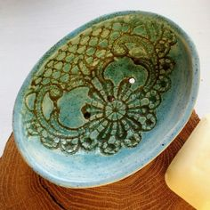 New ceramic soap dish is in the shop now 💚💚💚