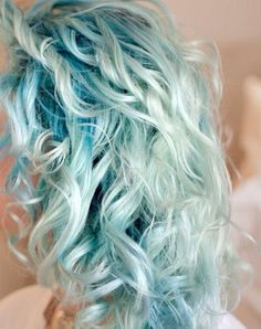 Mermaid Hair - I really want to go more blue this summer....this is a great shade...