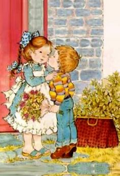 ´*•.¸(*•.¸♥¸.•*´)¸.•*´´*•.¸(*•.¸♥¸.•*´) Sarah Kay, Mary May, Holly Dolly, Vintage Drawing, Holly Hobbie, Children Images, Australian Artists, Colouring Pages, Cute Illustration