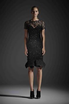 R14 ELAINE DRESS BLACK