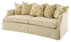 I Pinned This Moud Muse Couch From The French Country Farmhouse Event At Josain