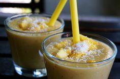Mango Smoothie Healthy Lifestyle, Pudding, Iron, King, Desserts, Recipes, Custard Pudding, Deserts, Food Recipes