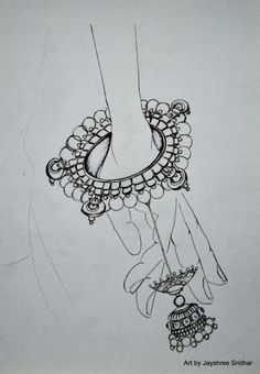 Super jewerly fashion illustration sketch design ideas - Image 5 of 24 Jewelry Illustration, Fashion Illustration Sketches, Art Drawings Sketches, Fashion Sketches, Abstract Drawings, Jewelry Design Drawing, Fashion Design Drawings, Drawing Fashion, Jewellery Sketches