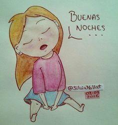 Buenas noches... #undibujoparacadadía #38 #dailydraw #scketchbook #dibujando #buenasnoches #goodnight #doodle #ink
